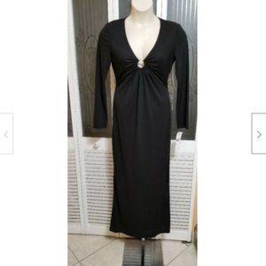 Jessica Howard Ladies Sexy Black Dress